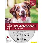 K9 Advantix II Topical Large Dog Flea & Tick Treatment, Pack of 6, 6 CT