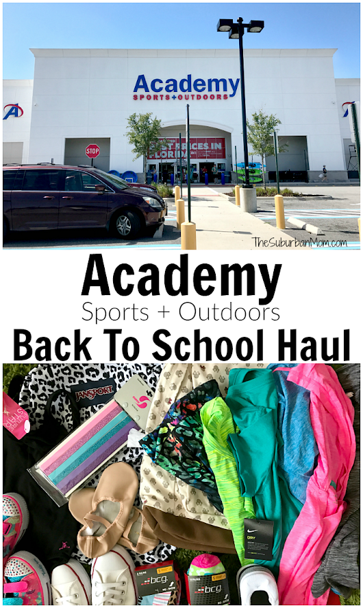 Gear Up At Academy Sports + Outdoors For Back To School
