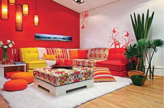 356698 Como decorar usando cores quentes Como decorar usando cores quentes