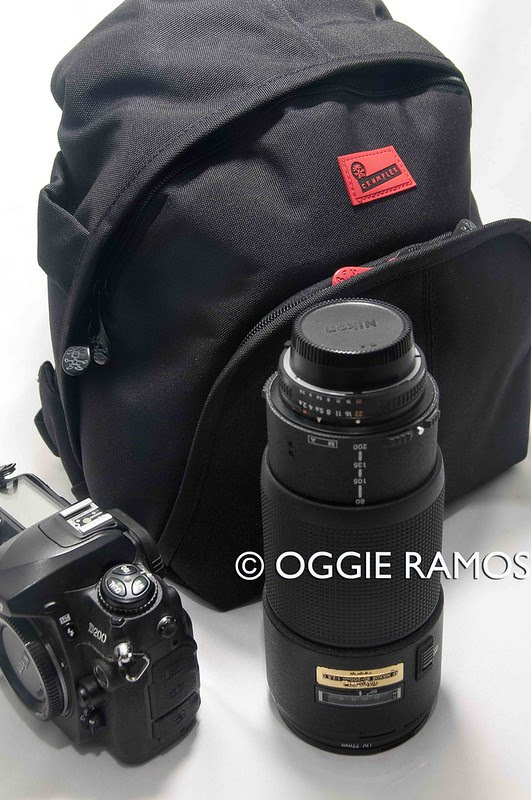 Crumpler 5M$Home Backpack with Long Lens