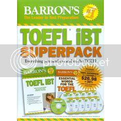 Barrons Toefl Ibt Superpack
