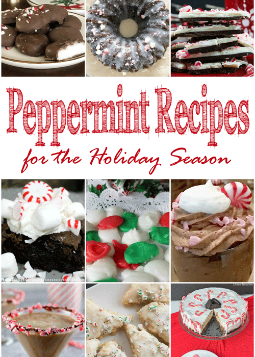 Peppermint Recipes for the Holiday Season + MM 182 - DIY Adulation