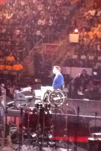 Rick Hansen, We Day 2011
