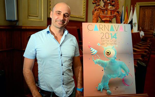 Juan Pedro Hidalgo cartel Carnaval 2014