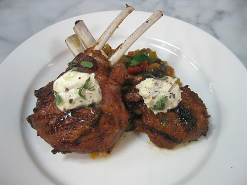 Marinated Lamb Chops w. Rataouille