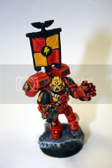 Warhammer 40k Blood Angels Banner