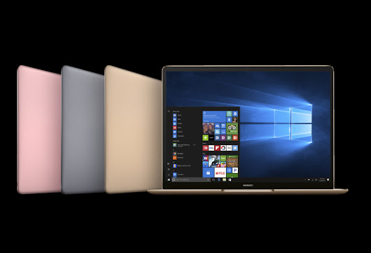 By Rethinking One Button Huawei MateBook Disrupts the Entire Laptop Market