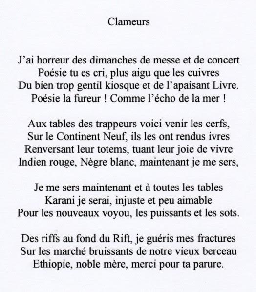 Poeme Anniversaire Rimbaud