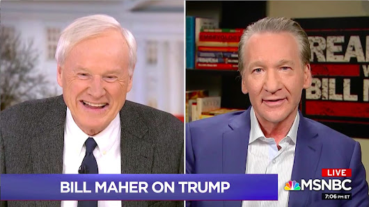 Bill Maher on MSNBC: 'It's About Time' We Call Trump a 'Traitor'