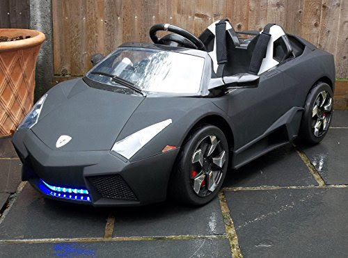 Kids 2 Seater Lamborghini Style Sports Car with Remote ...