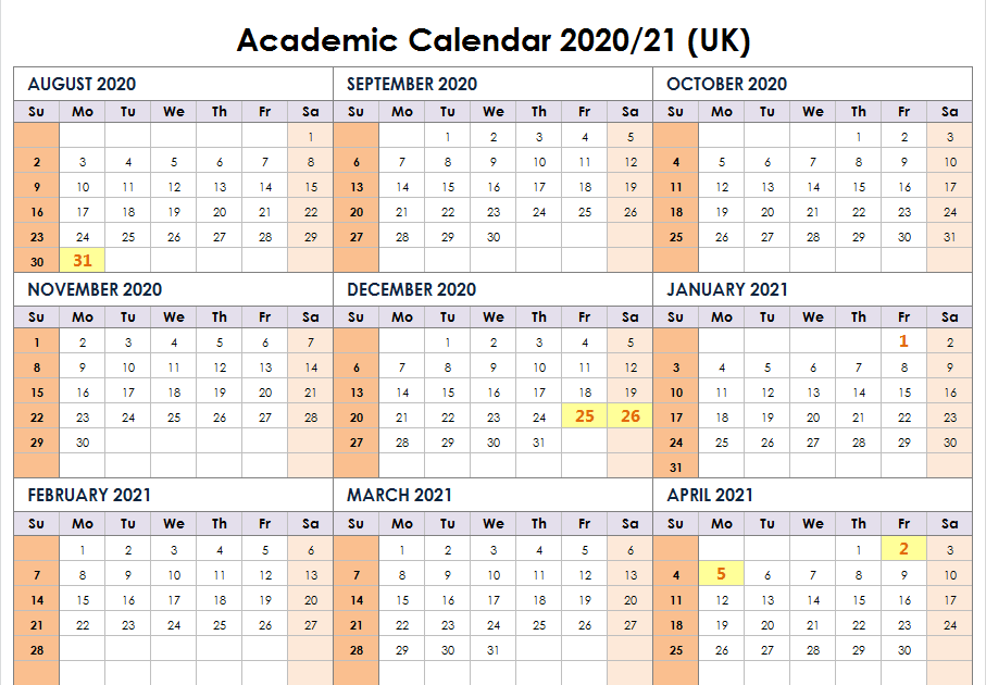 Summer Calendar 2021 Printable | Printable March
