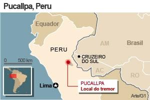 terremoto peru versão 2 (Foto: Editoria de Arte / G1)