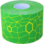 Theraband 12749 2 x 16.4 ft. Kinesiology Tape - Standard Roll Green & Yellow