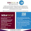 MBA Focus Merges With CSO Research to Build World-Leading Network for Matching Students and Employers