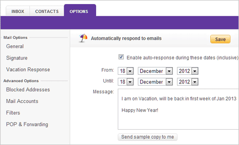 Vacation Email Auto Reply Message Sample - Travel Tips