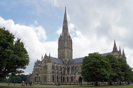 Salisbury Cathedral and the Magna Carta - Two Traveling Texans