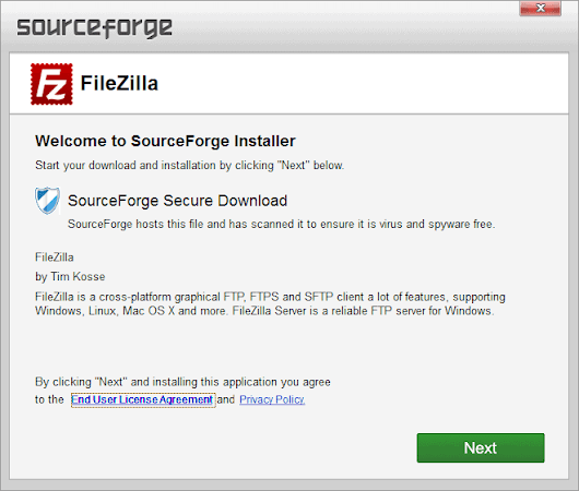 SourceForge's new Installer bundles program downloads with adware
