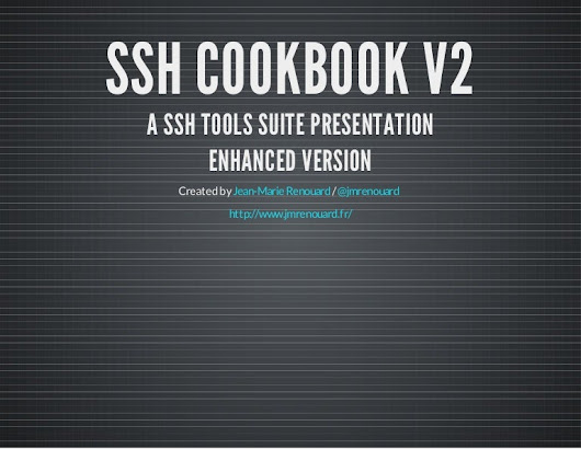 Ssh cookbook v2