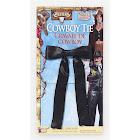 Black Western Cowboy Tie