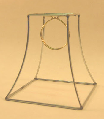 Square Bell Frame Clip 4 X 7 X 7 Lamp Shop