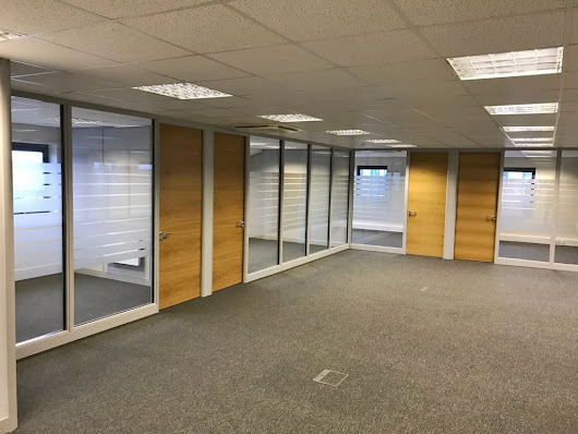 Case Study: Internal Glass Office Partitioning