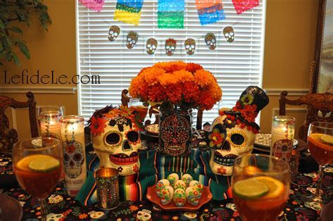day of the dead decorations diy   Decoratingspecial.com