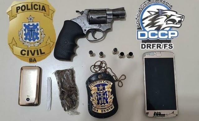 Homem morre após trocar tiros com a Polícia Civil em Feira de Santana