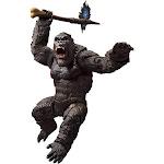 Godzilla Vs Kong S.H. Monsterarts King Kong Action Figure [Godzilla Vs Kong]