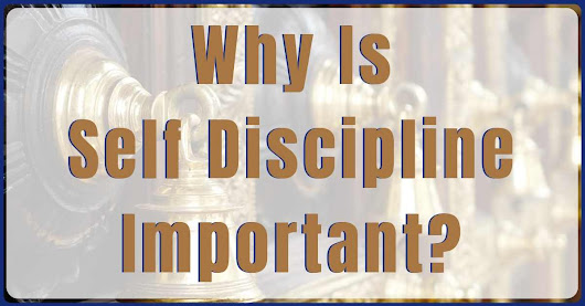 Why Is Self Discipline Important? Experts Say It...