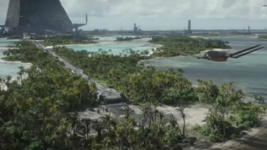 New ROGUE ONE Video Brings Jedha and Scarif to Life for STAR WARS | Nerdist