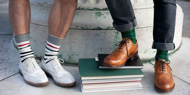 Men's Style Debate: Socks In The Summer