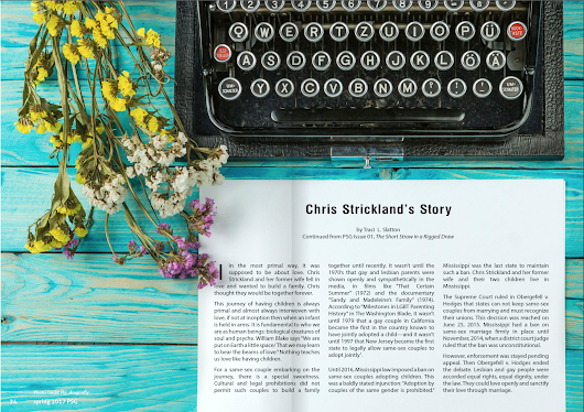 Chris Strickland's Story: My Article in Parent Survival Magazine - In the mouth of the serpent