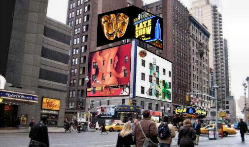 BILLBOARDS IN NEW YORK CITY - SALES AND RENT