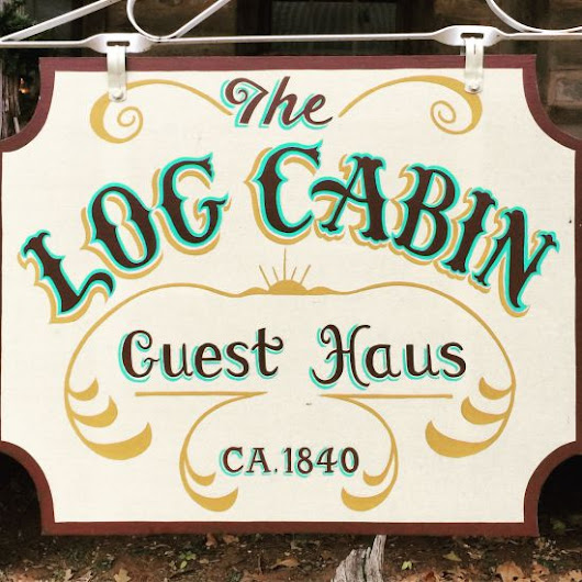 #Review Log Cabin Guest Haus in Cisco, Texas | Tui Snider's Offbeat & Overlooked