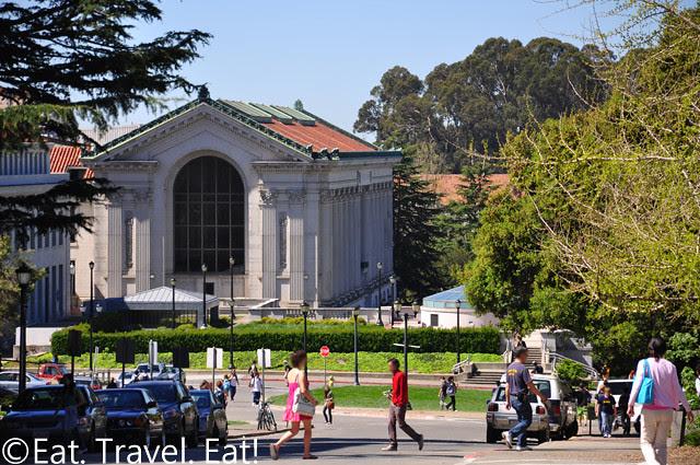 UC Berkeley, Berkeley, CA- Scene