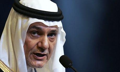 Prince Turki al-Faisal, former Saudi amb