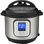 Instant Pot - Duo Nova 6-Quart 7-in-1, One-Touch Multi-Cooker - Silver