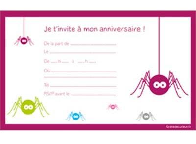 Modèle De Carte D Anniversaire Gratuit | coleteremelly blog