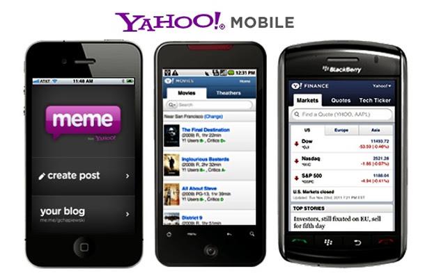 Yahoo Mobile Apps (Foto: Divulgação)