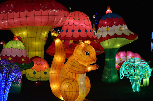A Look Around The Magical Lantern Festival At Chiswick House Gardens | Londonist