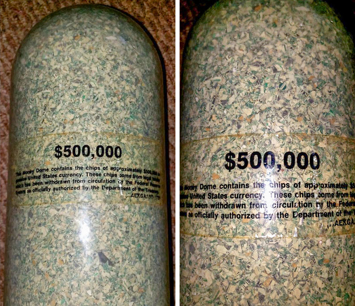 """21 - """"As a garbage man, I have found a ton of valuable items in peoples trash, but nothing compares to today. Today I found $500,000 in cash!"""""""