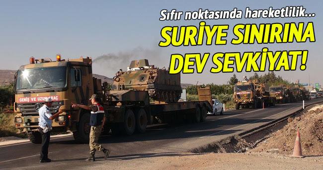 Συριακά σύνορα με την γιγαντιαία αποστολή!