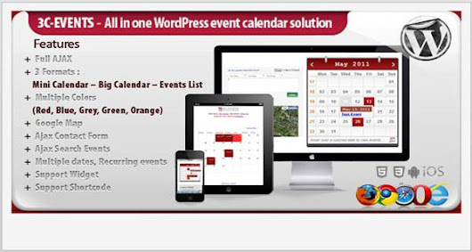 10 Event and Calendar Plugins for WordPress