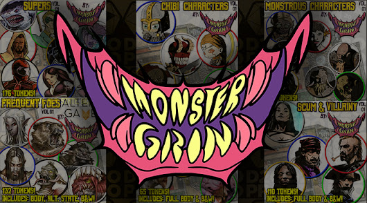 Monster Grin Creature Tokens | D20PRO