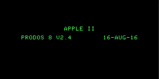 After 23 years, the Apple II gets another OS update