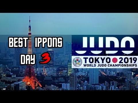 Mundial de Judô no Japão - DIA 3