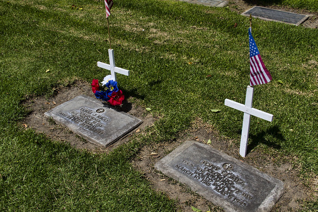 Memorial Day graves