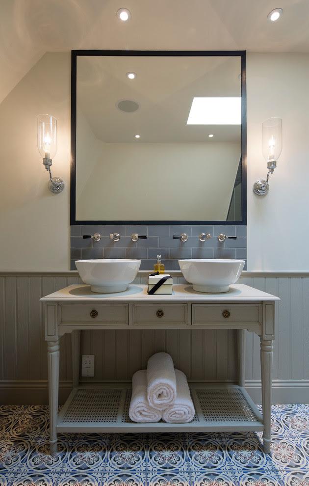 Modern Bathroom Backsplash Ideas Homedecorations