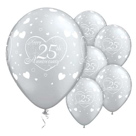 "11"" Wedding Anniversary Printed Balloons Party Decorations"