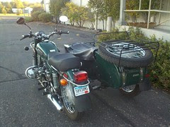 My ural back after taking 26 days to be repaired...